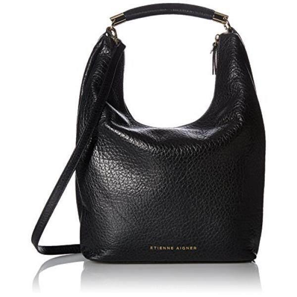 Etienne Aigner Althea Hobo Handbag, Black 001