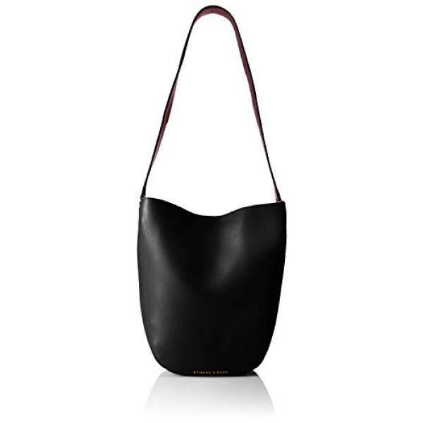 Etienne Aigner Mara Mini Hobo Handbag, Black/Cordovan
