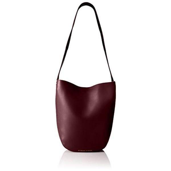 Etienne Aigner Mara Mini Hobo Handbag, Cordovan/Black
