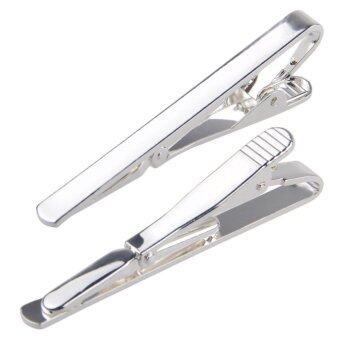 Fashion Men Metal Simple Necktie Tie Bar Clasp Clip Clamp Pin