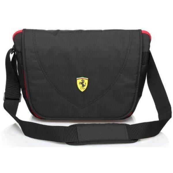 Ferrari Casuals Pelancong Kurir Tas (Hitam)-Internasional