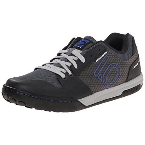 Five Ten Freerider Kontak Pria MTB Sepatu (Grey/Biru, 5.5)-Internasional