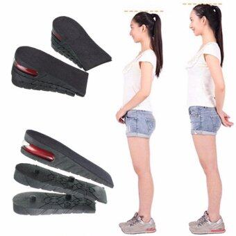 Freebang Unisex Shoe Insole Air Cushion Heel insert Increase Taller Height Lift 5 cm