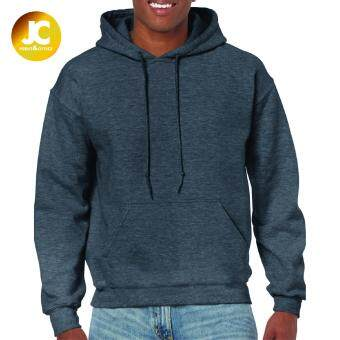 Gildan Adult Hooded Sweatshirt - Dark Heather (unisex)