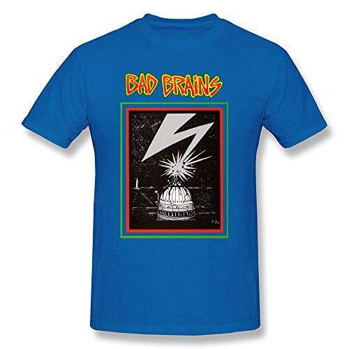 Impact Men's Bad Brains Capitol Short Sleeve T-Shirt - intl
