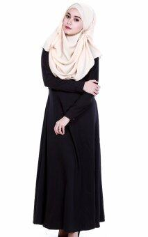 JF Fashion Delina Jubah Button C367 (Black)