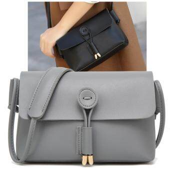 Julia Nubuck Leather Doctor Handbags Women Shoulder Bags Plaid Pu Messenger Bag Lady Totes Small Crossbody Sling (Grey)