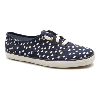 KEDS WOMEN WF55617 CH RETRO GEO NAVY SNEAKERS