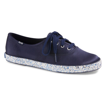 Keds Women WF55651 CH Glitter Foxing Navy/White Sneakers