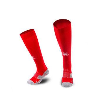 Kelme K15Z908 Men Antiskid Wearable Football Match Stockings (Red White)