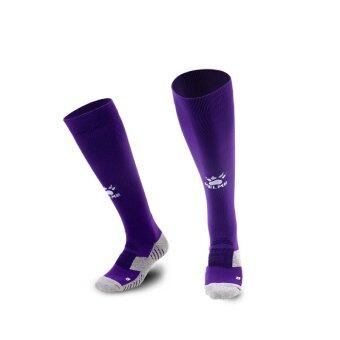 Kelme K15Z908 Men Antiskid Wearable Football Match Stockings (Purple White)