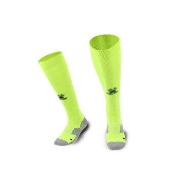 Kelme K15Z908 Men Wearable Antiskid Football Match Stockings (Fluorescent Green Black)