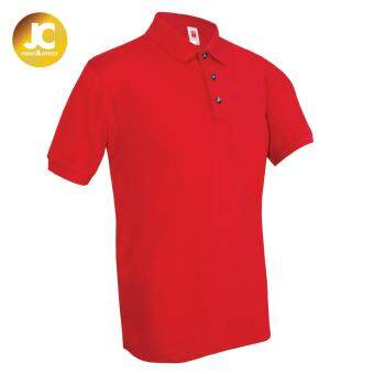 Kings Plain Polo Tee - Red (Unisex)