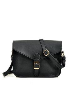 Korea Design Casual Sling Bag (Black) | Lazada Malaysia