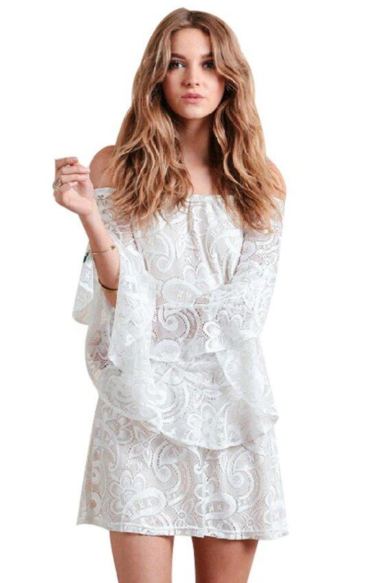 Womens Summer Fashion Casual Print Cotton Loose Dresses