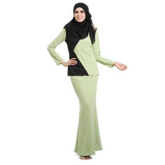 Lara Nour Baju Kurung Moden (Black)
