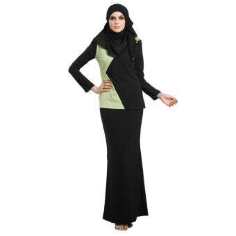 Lara Nour Baju Kurung Moden (Light green)