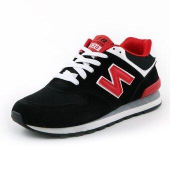 LCFU764 Men's fashion N board leisure shoes(red)