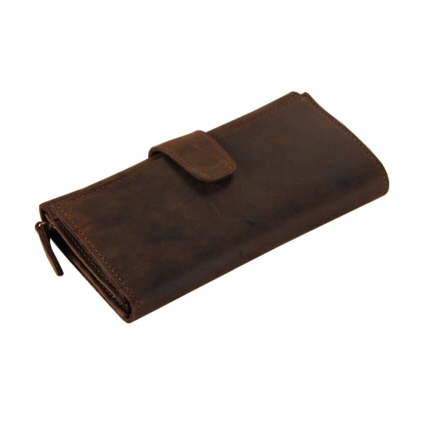 Leather Wallet More Screens Handbags Are 21 Yoke Hand CaughtVegetan Leather - intl