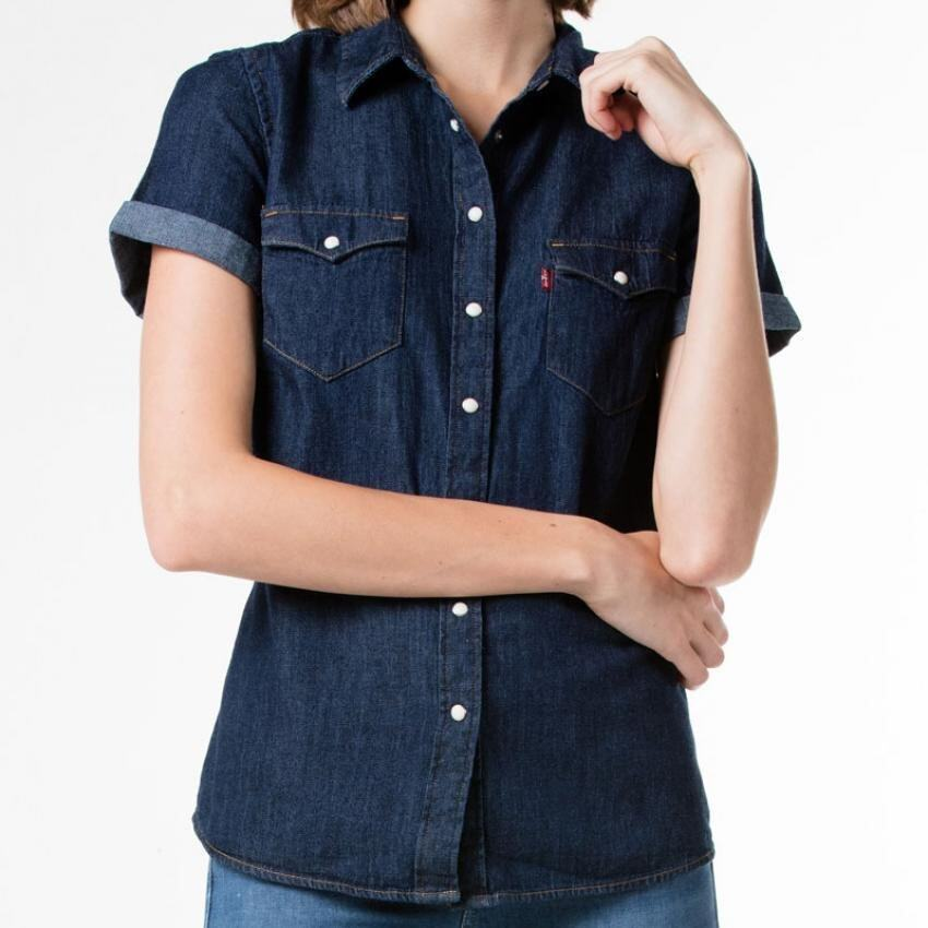 Levis classic western shirt lazada malaysia for Levi s short sleeve shirt