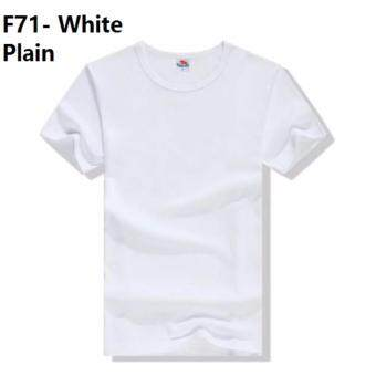 [MALAYSIA SUPPLIER,VERY FAST DELIVERY] (Size Available) (5 Color) White Putih Unisex Plain T Shirt Male Guy Man Men Boy Cloth Tops Sports T-Shirt couple Woman Female Girl Ladies Lady tee polo baju kain perempuan gadis wanita pakaian budak lelaki