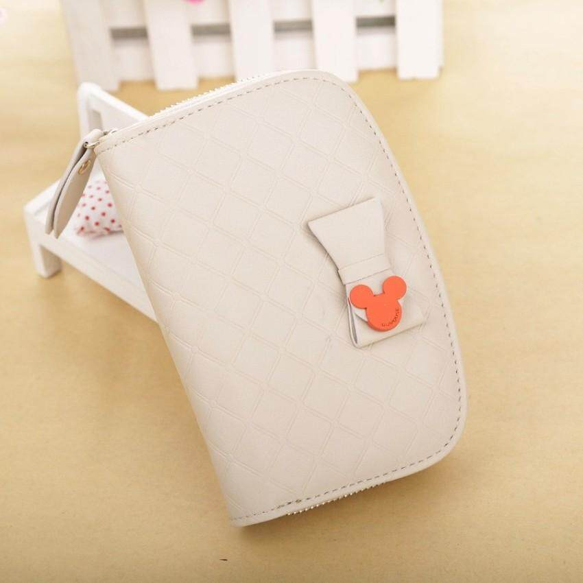 McPherson QQ Mouse Wallet 2017 New Lady In The Zipper Bag Cute Sweet Women's Wallet