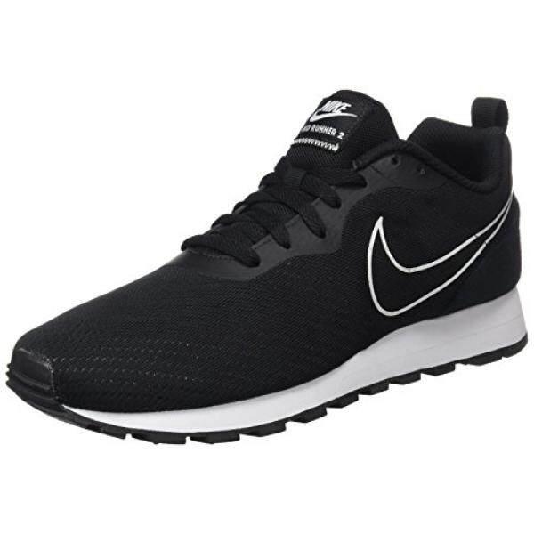 Mens Nike MD Runner 2 Mesh Shoe Black Size 12 M US - intl