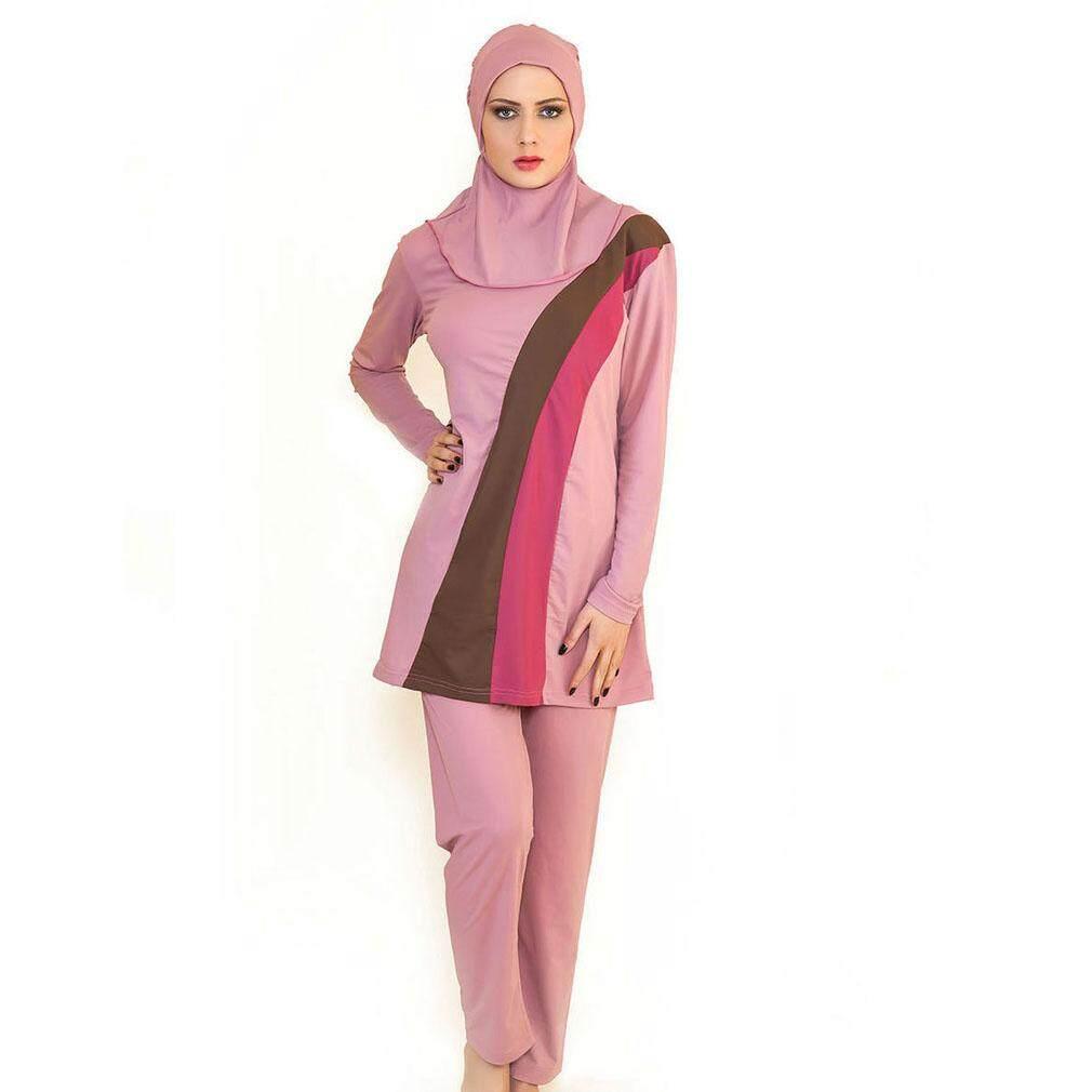 Wanita Muslim Spa Baju Renang Baju Renang Islami Penuh Cakupan Jilbab Renang  Pakaian Renang Baju Renang b8531e5ee4