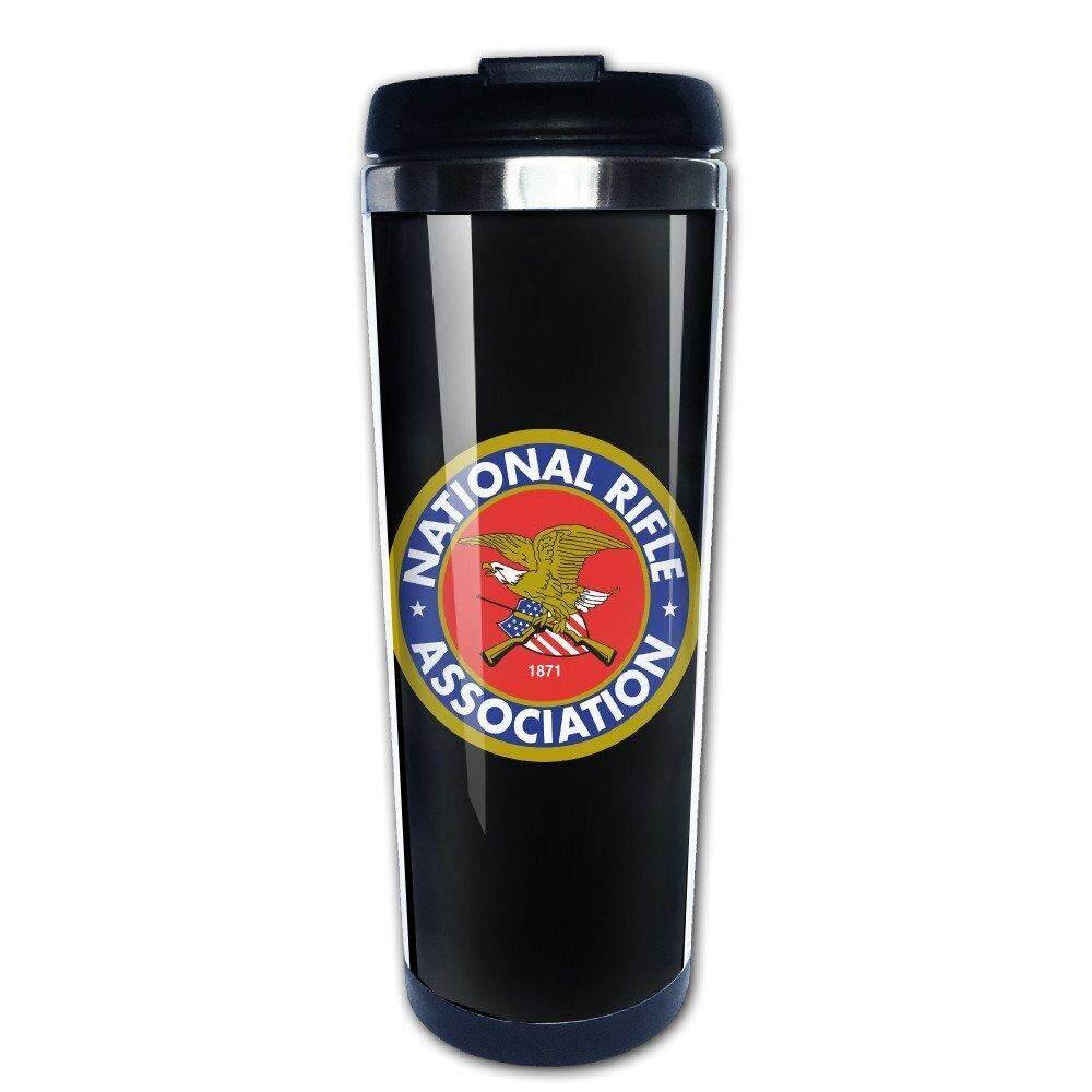Nasional Rifle Association NRA Perjalanan Kopi Glasscoffee Bottle Kekosongan Cangkir-Internasional