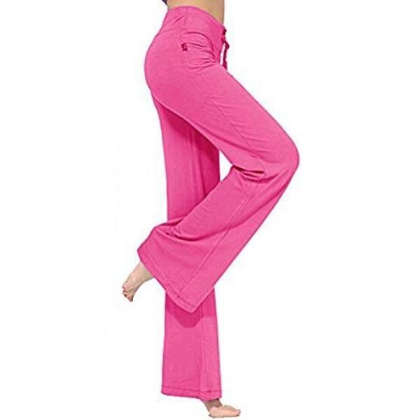 NB Wanita Panjang Modal Nyaman Drawstring Celana Longgar Lurus untuk Menjalankan Yoga Olahraga-Internasional