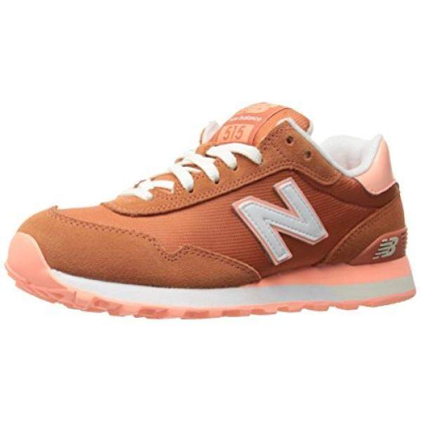 New Balance Womens 515 Core Pack Lifestyle Fashion Sneaker, Pink Clay/Bleached Sunrise, 12 B US - intl