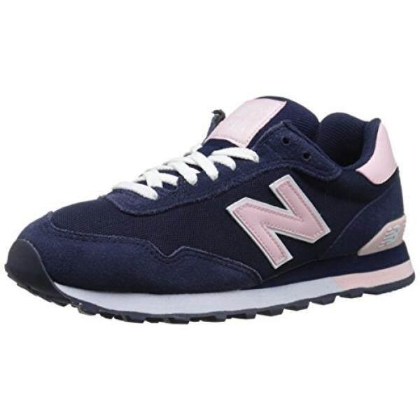 New Balance Womens WL515 Pique Polo Pack Classic Running Shoe, Navy/Pink, 12 B US - intl