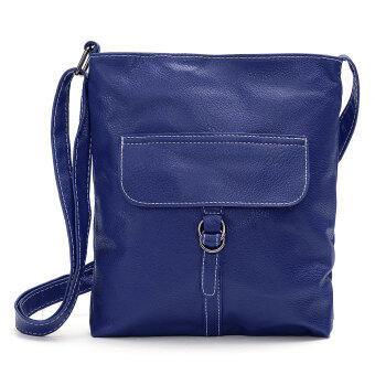 new lady designer pu leather style shoulder handbag adjustable strap zipped b. Black Bedroom Furniture Sets. Home Design Ideas