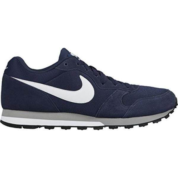 NIKE MD Runner en Shoes Blue 749794 410, Size:44.5 - intl