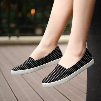 Old Beijing female new maternity shoes cloth shoes (Men's + Black)