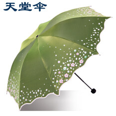 Spring 33230e Vinyl Folding Sun Protection Uv Parasol Paradise