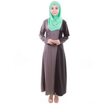 PH Fashion Haifa Jubah Dress (Grey)