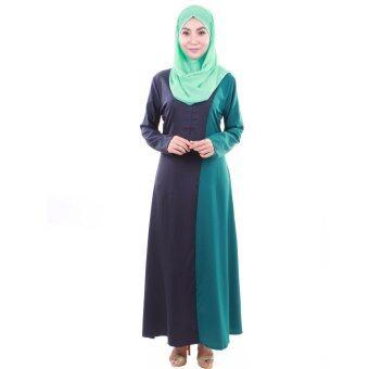 PH Fashion Haifa Jubah Dress (Navy Blue)