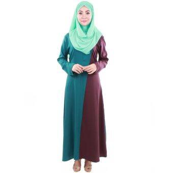 PH Fashion Haifa Jubah Dress (Navy Green)