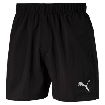 Puma Men's ESS Woven 5 Inch Shorts (Black)