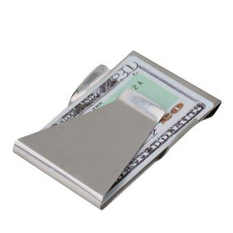 Slim Clip Double-Sided Money Card Holder