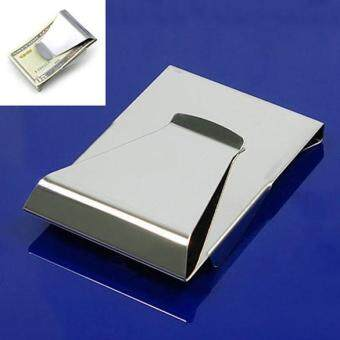 Slim Double Sided Money Clip Credit Card Holder Wallet