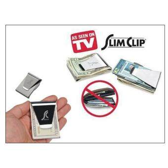 Slim Money Clip-Credit Card Cash Holder Wallet-As Seen On TVDropship