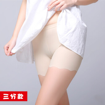 Three five viscose fibre anti-female summer pants safety shorts (Three points models: Color) (Three points models: Color)