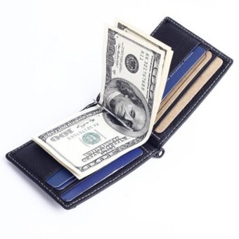 Top Quality famous Money clip leather clamp for brand wallet solidgeld clip of metallic