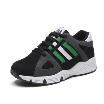 Ulzzang Korean-style female New style student casual shoes athletic shoes (Green)