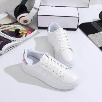 Victory Women's Fashion Flat Sneakers Sport Shoes fitness RunningShoes Walking Casual shoes (White)