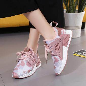 Women Sneakers Fashion Mesh Shoes Summer Casual Sport ShoesBreathable Light ( Pink )