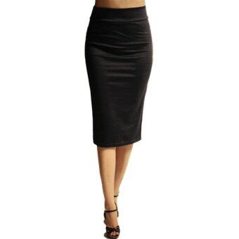 Womens Below the Knee Pencil Skirt for Office Wear | Lazada Malaysia