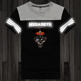Yeguang men's summer short sleeved-T-shirt (Black 24)